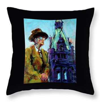 Frank Zeidler Throw Pillow