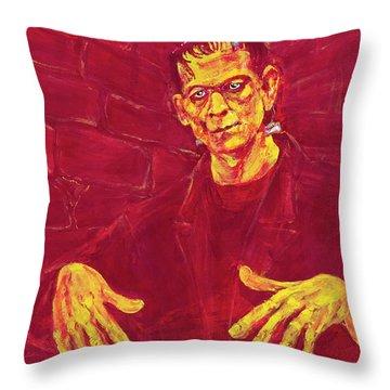 Frankenstein's Monster 1931 Throw Pillow