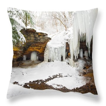 Frankfort Mineral Springs 2 Throw Pillow