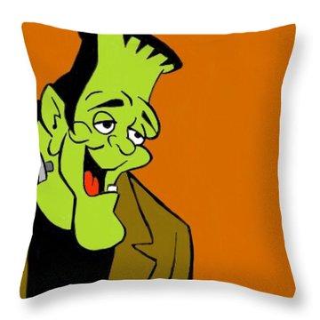 Frankie Baby Throw Pillow