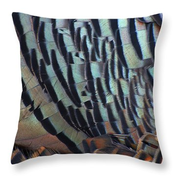 Throw Pillow featuring the photograph Franklin's Choice by Tony Beck