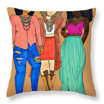 Franz 2 Throw Pillow