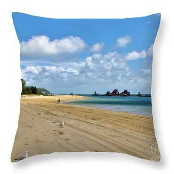 Throw Pillow featuring the photograph Fraser Island Austraila by Michele Penner