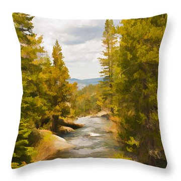 Frazier Creek Throw Pillow