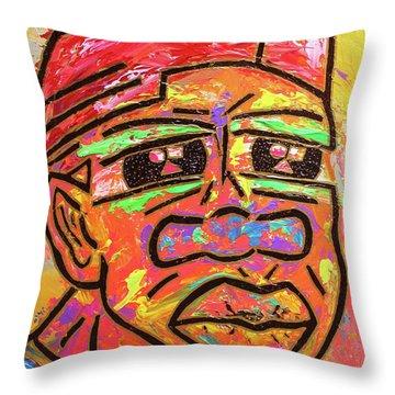 Freddy Freeloader Freeloading Throw Pillow