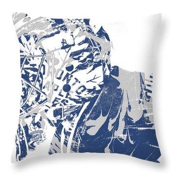 Frederik Andersen Toronto Maple Leafs Pixel Art 3 Throw Pillow