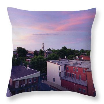 Twi Lights Throw Pillow