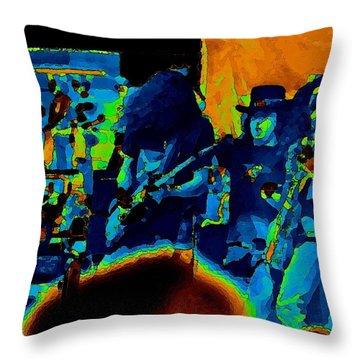 Free Bird Pastel Oakland 1 Throw Pillow