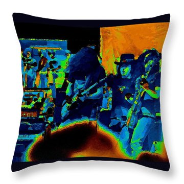 Throw Pillow featuring the photograph Free Bird Pastel Oakland 1 by Ben Upham III