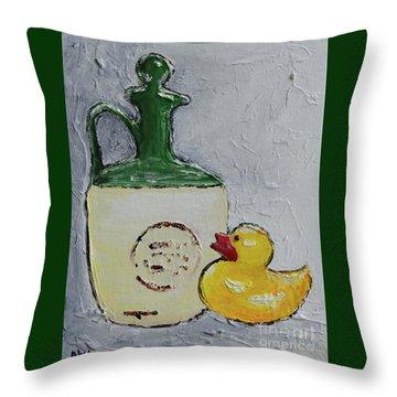Free Duck Throw Pillow
