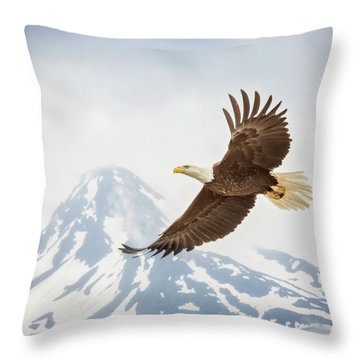 Free Flying Throw Pillow