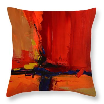 Free Mind - Art By Elise Palmigiani Throw Pillow by Elise Palmigiani