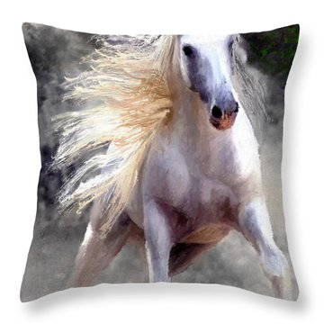 Free Spirit #2 Throw Pillow