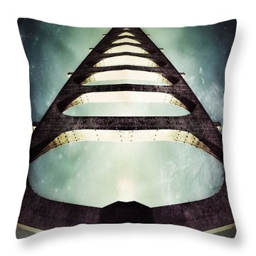 Free Waters Throw Pillow