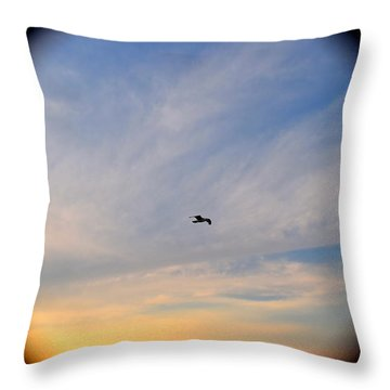 Freebird  Throw Pillow