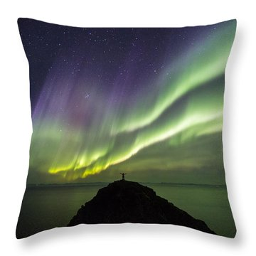 Freedom Throw Pillow by Alex Conu