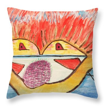 Freedom Brings New Dream Throw Pillow