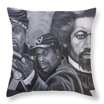 Freedom Fighters Throw Pillow