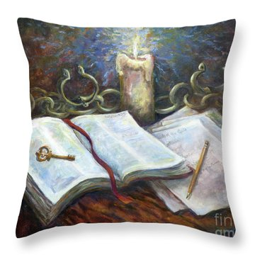 Freedom From The Chains That Bind Throw Pillow