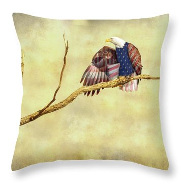 Throw Pillow featuring the photograph Freedom by James BO Insogna