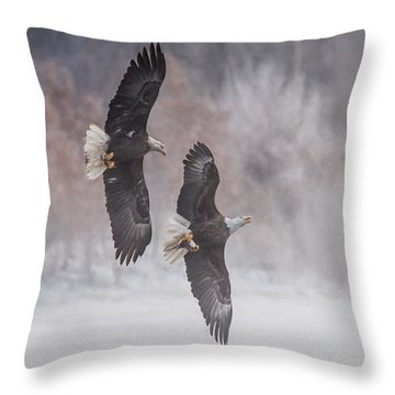 Freedom Throw Pillow by Kelly Marquardt