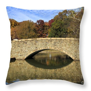 Freedom Park Bridge Throw Pillow