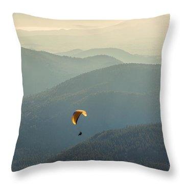 Freedom Throw Pillow by Radu Razvan