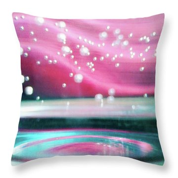Throw Pillow featuring the photograph Freedom by Rebecca Harman