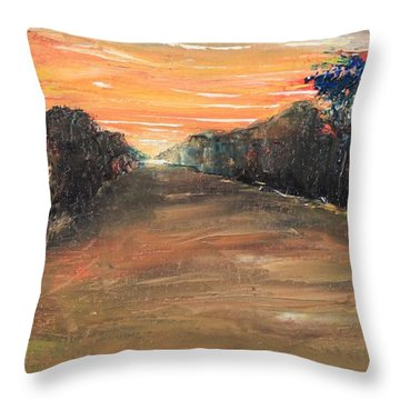 Freedom Road Throw Pillow