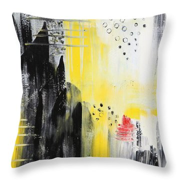 Freedom Throw Pillow by Sladjana Lazarevic