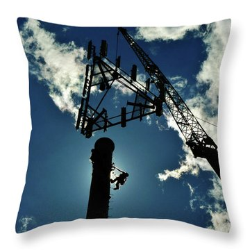 Throw Pillow featuring the photograph Freeland by Robert Geary