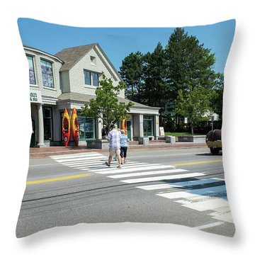 Freeport, Maine #130398 Throw Pillow
