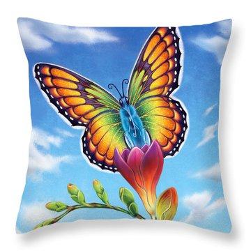 Freesia - Necessary Change Throw Pillow