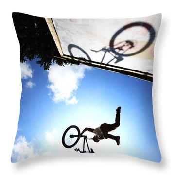Freestyle Shadows Throw Pillow