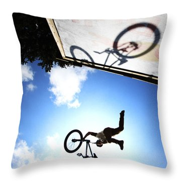 Freestyle Shadows Throw Pillow