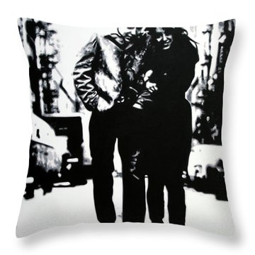 Freewheelin Throw Pillow