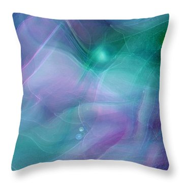 Freewill Throw Pillow by Linda Sannuti