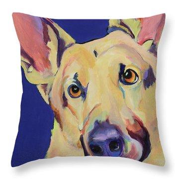 Freida Throw Pillow by Pat Saunders-White