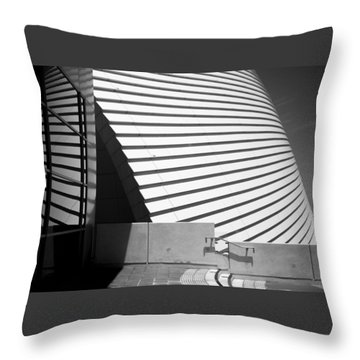 Fremantle Maritime Museum Throw Pillow by Serene Maisey
