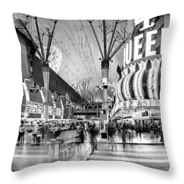 Time Exposure Throw Pillows