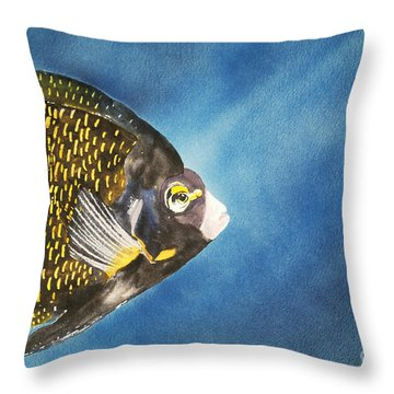 French Angel Throw Pillow by Tanya L Haynes - Printscapes