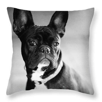 French Bulldog Throw Pillow