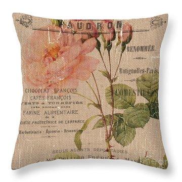 Botanical Garden Throw Pillows