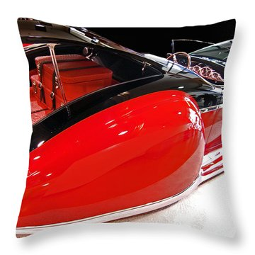 French Deco Throw Pillow by Bill Dutting