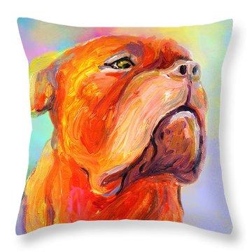 Mastiff Throw Pillows