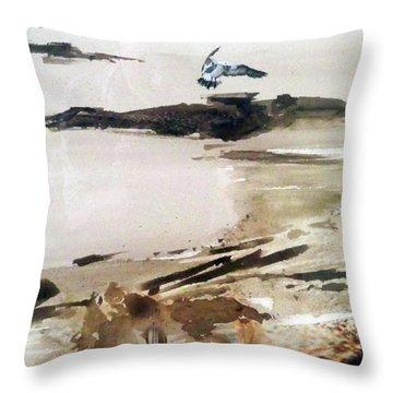 French Lake Throw Pillow