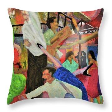 French Quarter Throw Pillow