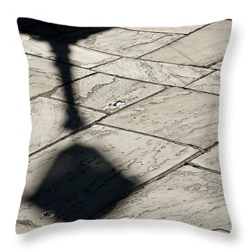 French Quarter Shadow Throw Pillow