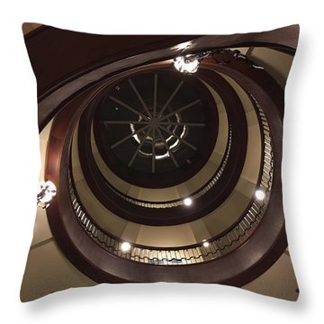 French Quarter Spiral Throw Pillow