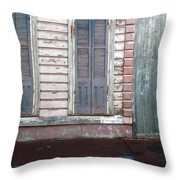 French Quarter Throw Pillow by Steve Archbold